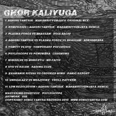 Free #DarkPsy #Psycore - compiled by aGh0Ri TanTriK- 11 collaborations Xhamanik Ritual, Penumbra, Komfuzius & More! http://sonictantra.com/download-release/va-ghor-kaliyuga/