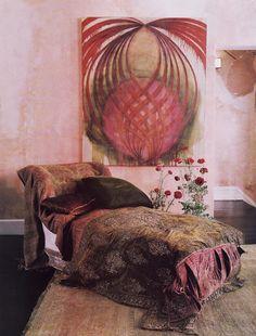 Artist Judith Hudson's home - interior