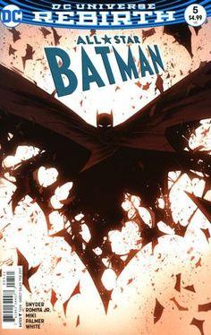 All Star Batman DC Comic Book modern era covers Batman Dark Knight Gotham rebirth New 52 Catwoman, Batgirl, Nightwing, Batman Wallpaper, Batman Artwork, Marvel Comics, Bd Comics, Comic Books Art, Comic Art