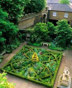 Herb knot garden Garden Plans Pinterest Herbs Herb