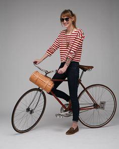 Moto Bag Leather $310 #bag #bike #leather