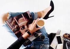 fashion basics and coffee.