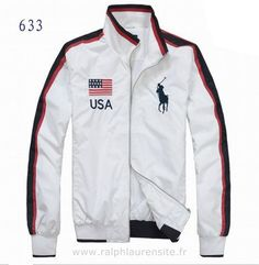 veste polo classic france polo new usa blance soldes Ralph Lauren Chaussures Homme