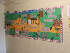 islam bulletin board ideas | Art : Sr. Madlien came to our class to coach us on creating water ...