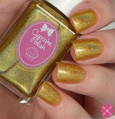Cupcake Polish Summer 2015 Collection Don't Worry, Bee Happy Swatch