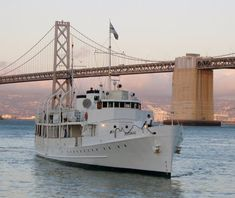"""Ride the """"floating White House"""" the USS Potomac. How often do you get to see some of the marvels of the sea that the presidents get to enjoy? London Square, Presidential History, Ferry Boat, Hotel California, East Bay, Outdoor Recreation, Cruise, San Francisco, Motor Yachts"""