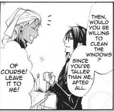 5.23.7: Where Sebastian accepts Agni is taller than OMFGGGGGGGGGG his ego must have taken a MASSIVE hit.
