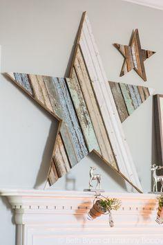 How to DIY a scrap wood star-11