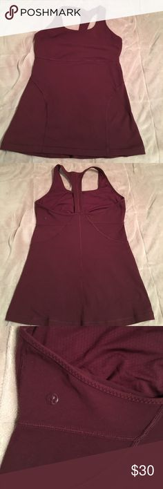 Lululemon size 10 Excellent condition lululemon athletica Tops Tank Tops