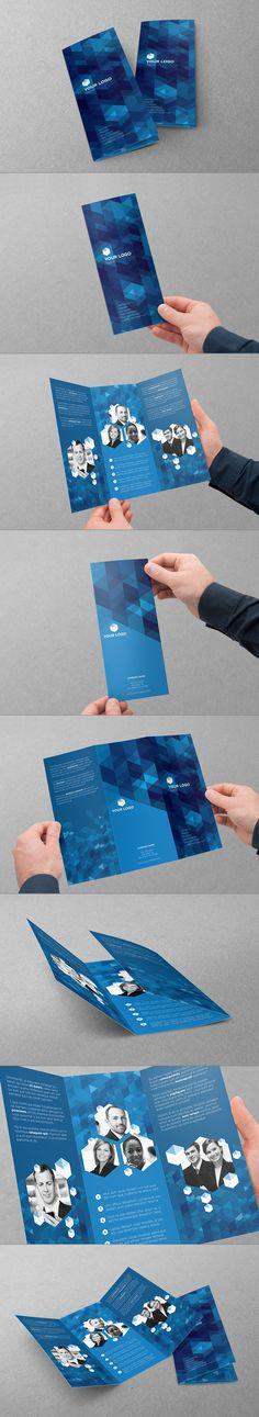 Trifold Design by Abra Design, via Behance #design #brochure #trifold