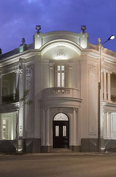 Hotel B, Baranco District in Lima Peru. Very old private Peruvian home restored as a beautiful boutique hotel. Go and have drinks or tea there!