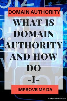 Ever wonder how you might be able to get an idea of how your site might stack up against others in your field, which sites you may want backlinks from and which have the most authority? Domain Authority is going to answer those questions. Read on and find out how you can check and improve your Domain Authority #SEO #DomainAuthority #OnlineBusiness #OnlineStarter #Ranking # PageRank Google Page, Online Business, Seo, Improve Yourself, About Me Blog, Author, How To Get, Posts, This Or That Questions