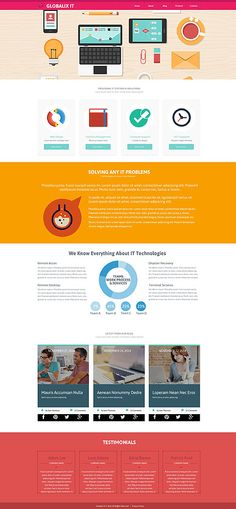 Globalix IT Company #website #template. #themes #business #responsive