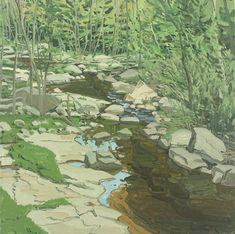 Study for Spring Brook, Neil Welliver