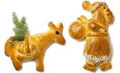 Die Grittibänzen sind da!   Betty Bossi Swiss Desserts, Santa Bread, Lebkuchen Cupcakes, Christmas Cats, Xmas, Christmas Decorations, Christmas Ornaments, Holiday Decor, Mint Chocolate Cheesecake