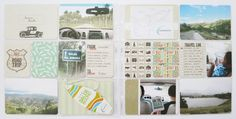 Created by Rianne Alonte featuring Road Trip Themed Cards and DIY Shop Value Kit. Project Life Travel, Digital Project Life, Pocket Scrapbooking, Digital Scrapbooking, Project Life Layouts, Diy Shops, Travel Log, Scrapbook Paper Crafts, Creative Inspiration
