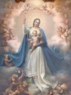 Blessed Mother Mary, Divine Mother, Blessed Virgin Mary, Virgin Mary Art, Mary Jesus Mother, Catholic Pictures, Jesus Pictures, Catholic Art, Religious Art