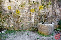 Le decorazioni con le ghirlande di fiori estivi