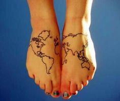 I got the whole world......