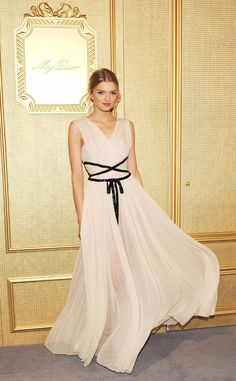 Lily Donaldson in  Christian Dior.Glamour In Streetstyle