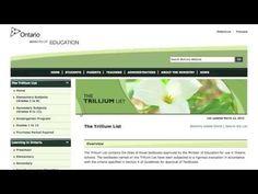 THE TRILLIUM LIST – librarysection23
