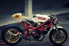 Ducati cafe racer style.