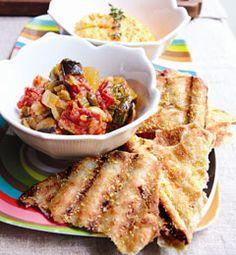 Grilled Sicilian Caponata