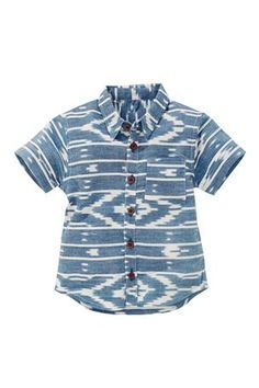 next Buy Aztec Chambray Shirt (3mths-6yrs) from the Next UK online shop