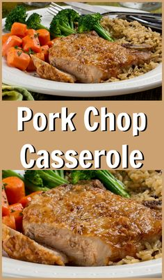Pork And Apple Casserole Food In A Minute. Stuffed Pork Chops With Bacon And Gouda Low Carb With . Slow Cooker Lamb Chops In Red Wine Sauce. Seafood Casserole Recipes, Potatoe Casserole Recipes, Easy Pork Chop Recipes, Pork Recipes, Pork Chop Casserole, Baked Pork Chops, Pork Dishes, Main Dishes, Link