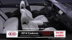 2014 Kia Cadenza Interior Review near Grand Rapids, Michigan #icarvideo