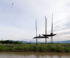 Место отдыха из старых лодок во Вьетнаме (Интернет-журнал ETODAY)