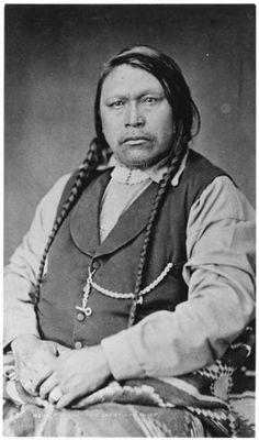 Ute Chief Ouray ~ Colorado City Colorado ~ 1878