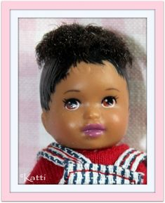 Barbie Happy Family, Barbie Kids, Little Sisters, Fashion Dolls, Childhood Memories, Entertaining, Baby Things, Babys, House