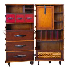 FREE SHIPPING! Shop Wayfair for Authentic Models Stateroom Armoire - Great Deals on all Furniture products with the best selection to choose from!