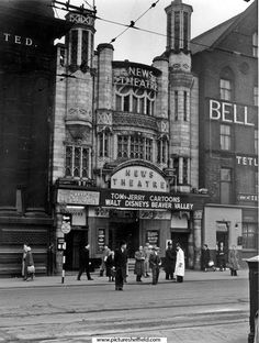 News Theatre, Fitzalan Square, formerly The Electra Palace, opened February Closed on 28 July 1945 and reopened as Capital and Provincial News Theatre in September. Became Classic Cinema on 15 January Closed November Sources Of Iron, Sheffield City, Old Photos, Nice Photos, City Council, Derbyshire, Antique Prints, Leeds, Yorkshire