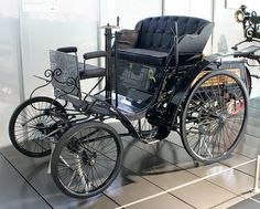 This is one of the first models that came out during the 1890s that resembles nothing like our cars now, but was one of the simple pleasures that people in the 1890s wanted and made anyone a happy person if purchased.