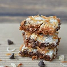 Gluten Free Gingerbread 7 Layer Bars - Fearless Dining