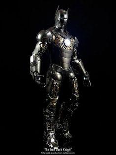 When Iron Man meets Batman, you get the Iron Dark Knight.
