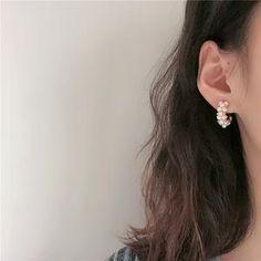 Women Vintage Pearl Hoop Earrings earrings earrings hoops earrings studs earrings for her earrings Cute Gifts For Her, Diamond Earrings, Hoop Earrings, Jewelry Accessories, Women Jewelry, Watch Necklace, Vintage Pearls, Fashion Earrings, Vintage Ladies