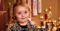 HONEY BOOBOO CHILD!