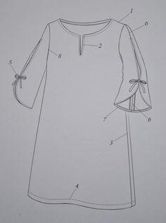 Dress F from Stylish Dress Book by Yoshiko Tsukiori