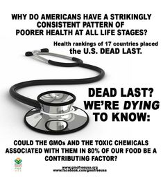 """Americans are sick and getting sicker. Researchers were surprised to find a """"strikingly consistent and pervasive"""" pattern of poorer health at all stages of life. Compared to people in other developed nations, we endure some of the worst rates of heart disease, lung disease, obesity, and diabetes. Why is this? We're dying to know! www.theatlantic.com/health/archive/2013/01/new-health-rankings-of-17-nations-us-is-dead-last/267045/"""