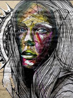A selection of awesome street art creations by French artist Alexandre Monteiro, aka HOPARE, based in Paris. Lettering, faces, animals, architecture come togeth