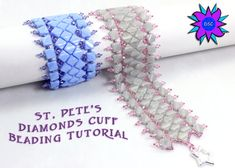 St. Petersburg Diamonds Cuff Bracelet by DesertStarCreations
