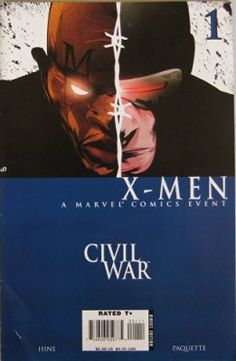 Civil War: X-Men, #1, September 2006