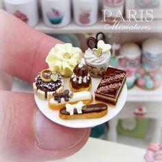 Dark chocolate, milk chocolate and white chocolate treats (chocolate treats hands)