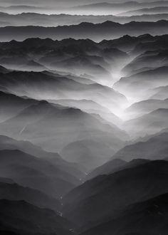 Gray | Grey | Gris | グレー | Grigio | серый | Gurē | Colour | Texture | Photograph The Sierra III by Luc Busquin on 500px
