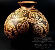 400 à 1400 A.D. Ile de Marajó, Brésil