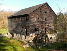 Sarah Furnace Grist Mill - Sproul, PA