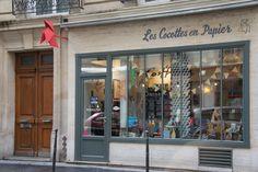 La boutique Les Cocottes en Papier 7 rue Fourcroy - 75017 Paris
